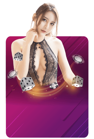 Sexy gaming banner png